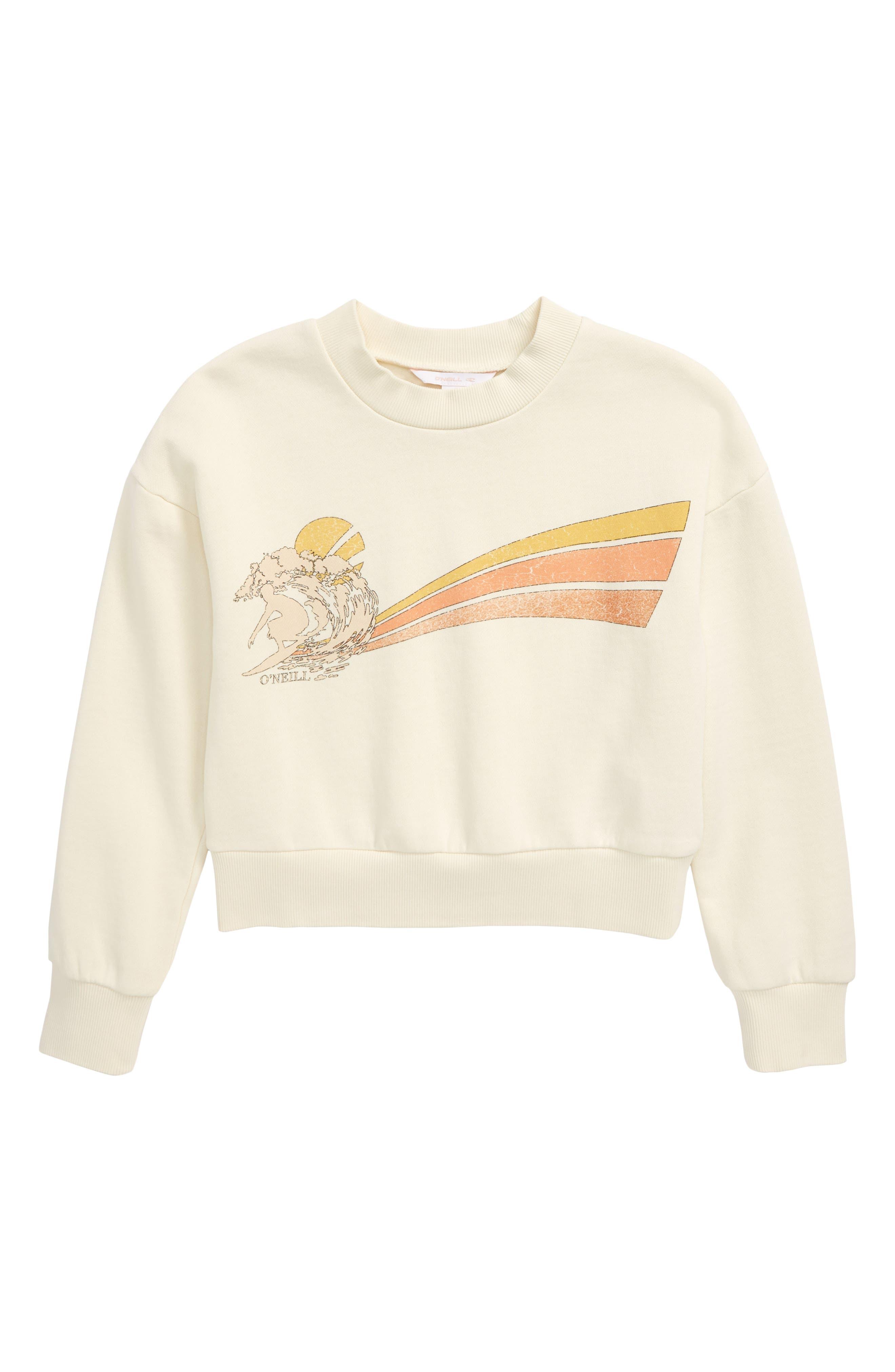 O'Neill Caila Fleece Graphic Pullover