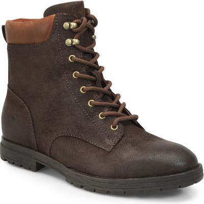 B?rn Pike Waterproof Lace-Up Boot, Brown