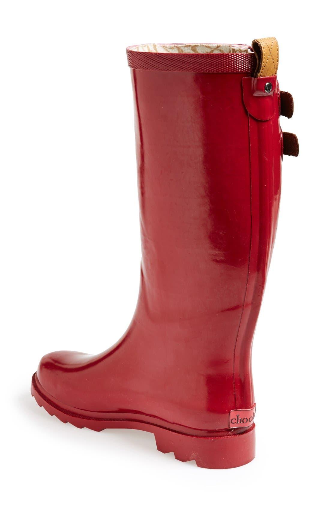 ,                             'Top Solid' Rain Boot,                             Alternate thumbnail 111, color,                             600