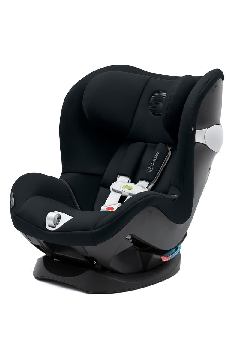CYBEX Sirona M SensorSafe<sup>™</sup> 2.0 Convertible Car Seat, Main, color, LAVASTONE BLACK