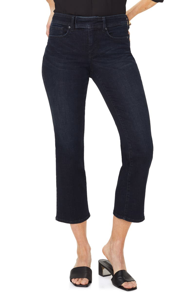 NYDJ Marilyn Stretch Ankle Straight Leg Jeans, Main, color, QUENTIN