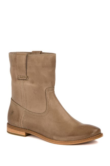 Image of Frye Anna Leather Short Boot