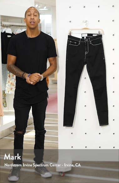 Le Skinny de Jeanne Contrast Stitch Ankle Jeans, sales video thumbnail