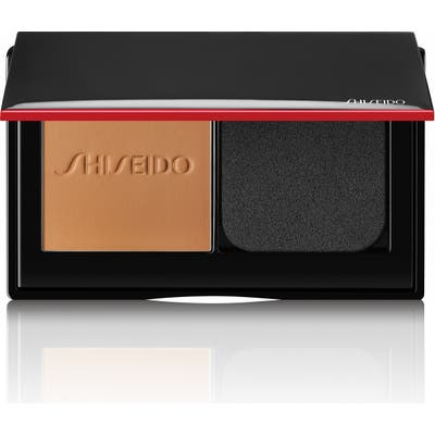 Shiseido Synchro Skin Self-Refreshing Custom Finish Powder Foundation - 350 Maple