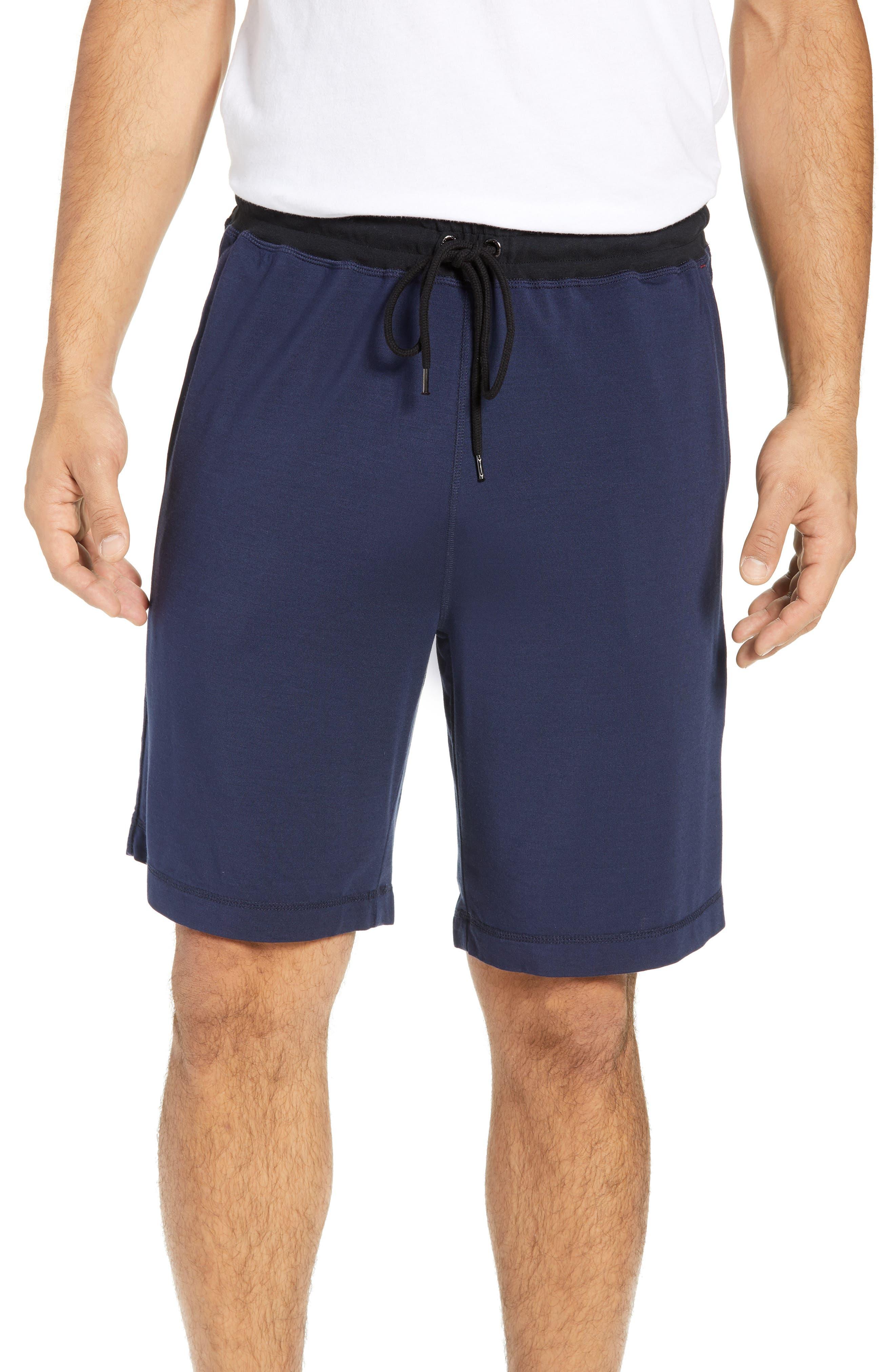 Daniel Buchler Modal Blend Pajama Shorts, Blue