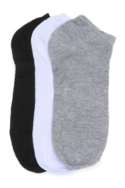 Image of Stems Basic No Show Socks - Pack of 3