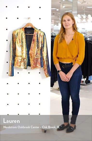 Sequin Blazer, sales video thumbnail