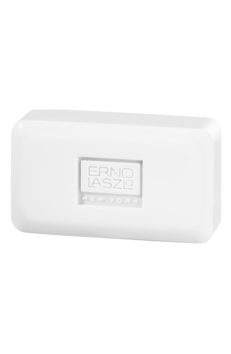 ERNO LASZLO White Marble Cleansing Bar, Main, color, NO COLOR