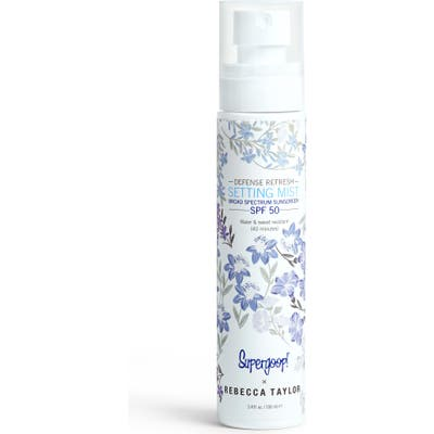 Supergoop! X Rebecca Taylor Defense Refresh Setting Mist Broad Spectrum Spf 50, oz