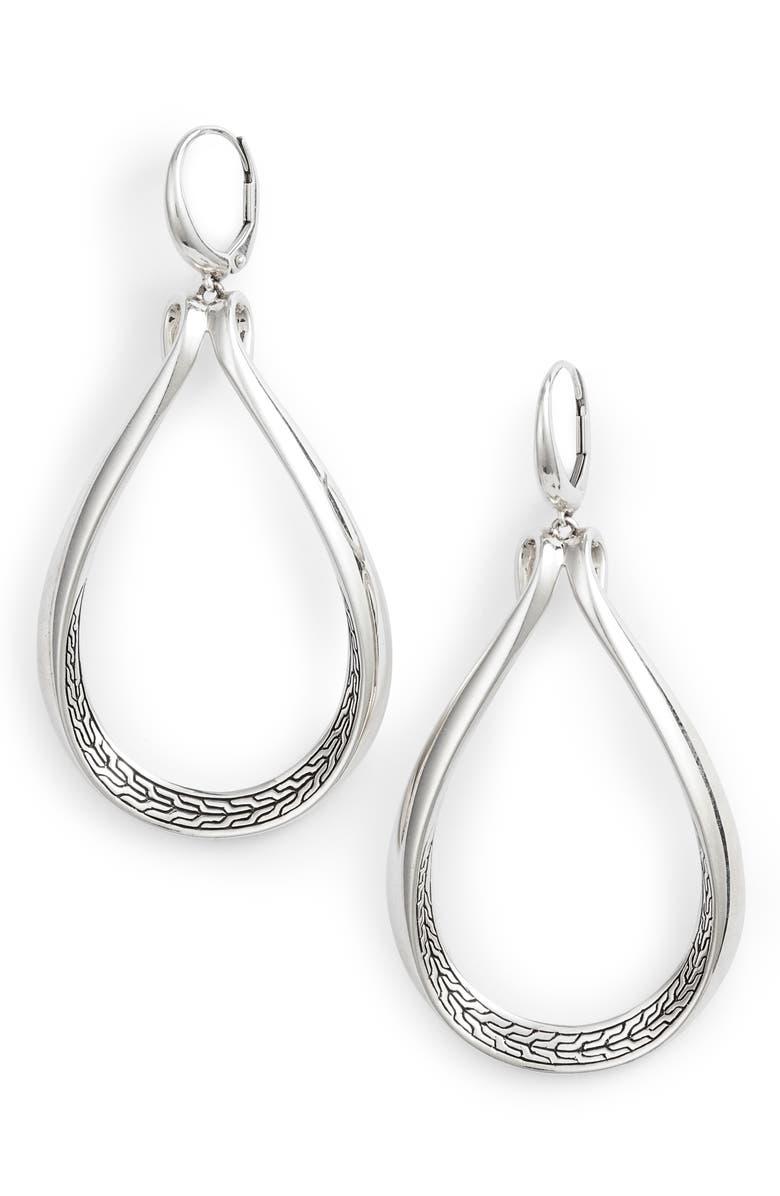 JOHN HARDY Asli Classic Chain Drop Earrings, Main, color, 040