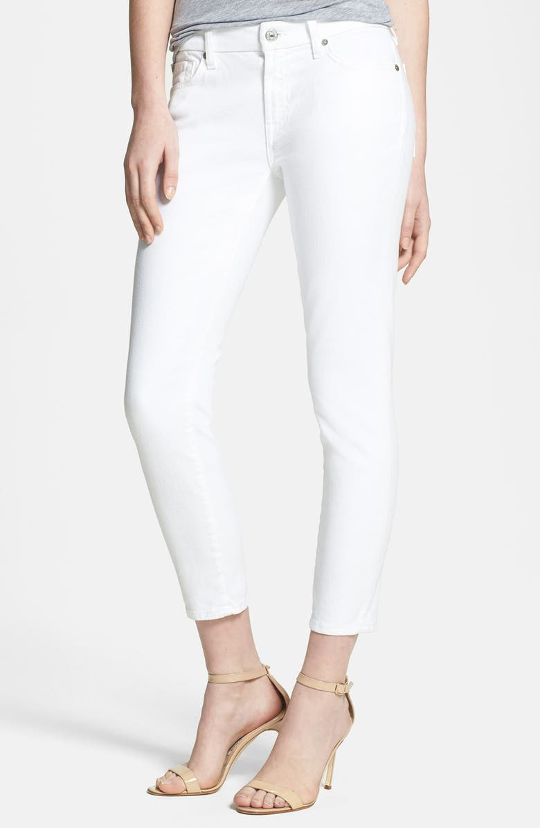 7 FOR ALL MANKIND<SUP>®</SUP> 'Kimmie' Crop Skinny Jeans, Main, color, 101