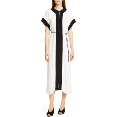 Equipment Claudine Dress, White
