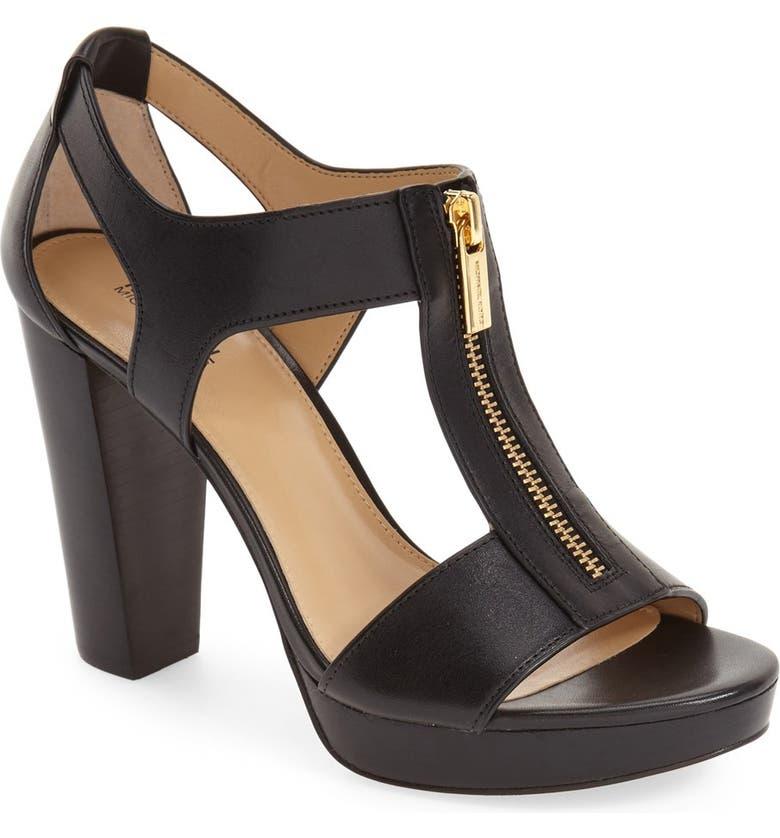 MICHAEL Michael Kors Berkley T Strap Sandal Women