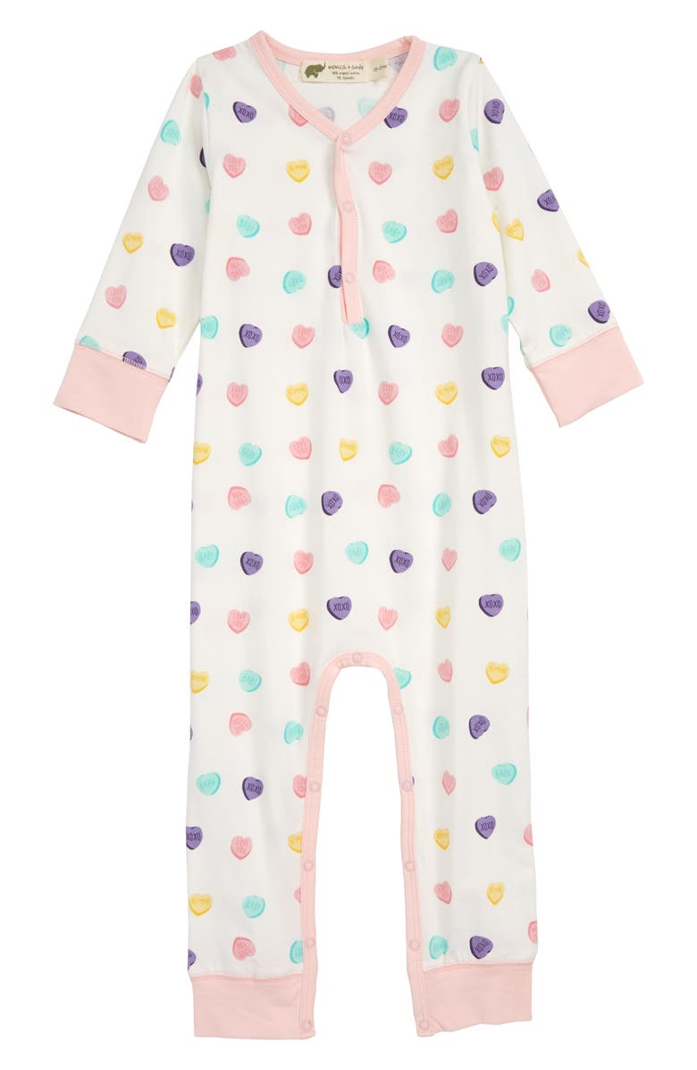 MONICA + ANDY On the Go Romper, Main, color, 100