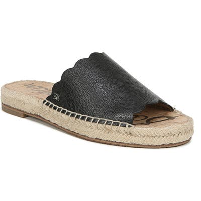 Sam Edelman Andy Slide Sandal- Black