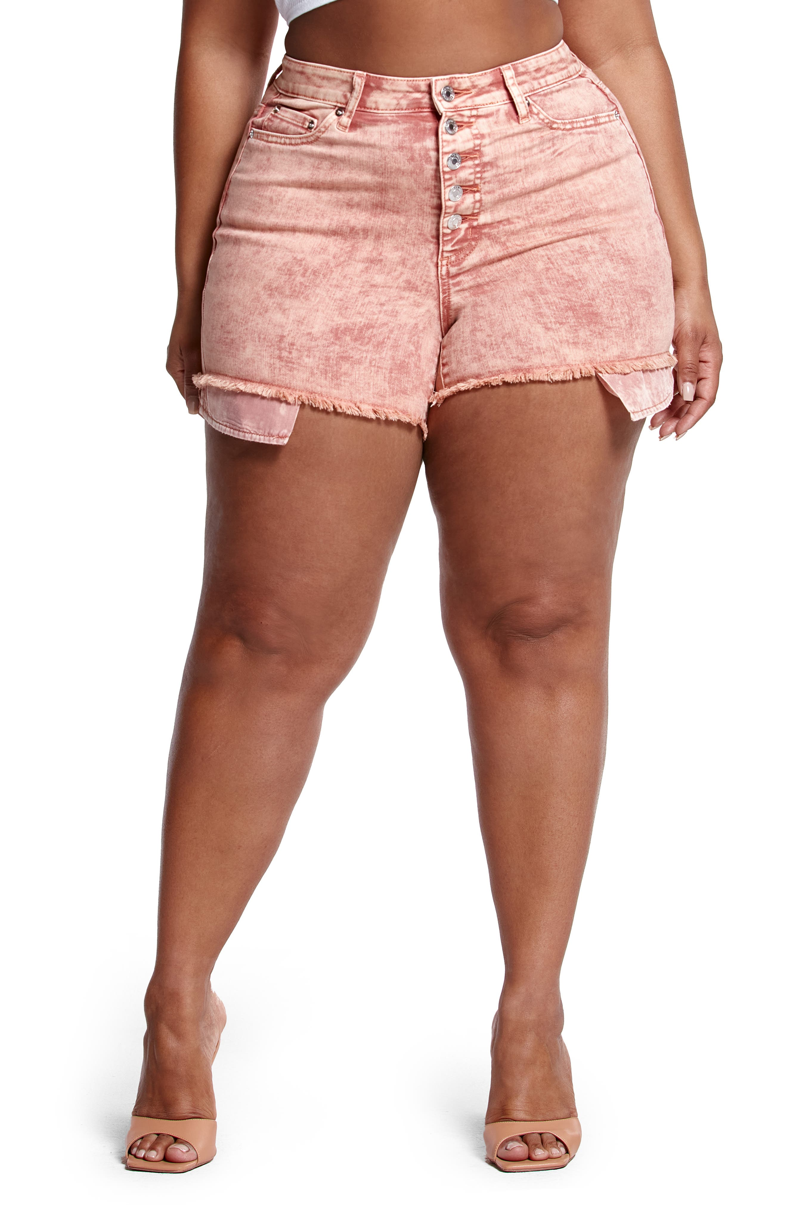 High Waist Cutoff Shorts