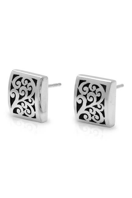 Image of Lois Hill Sterling Silver Scroll Stud Earrings
