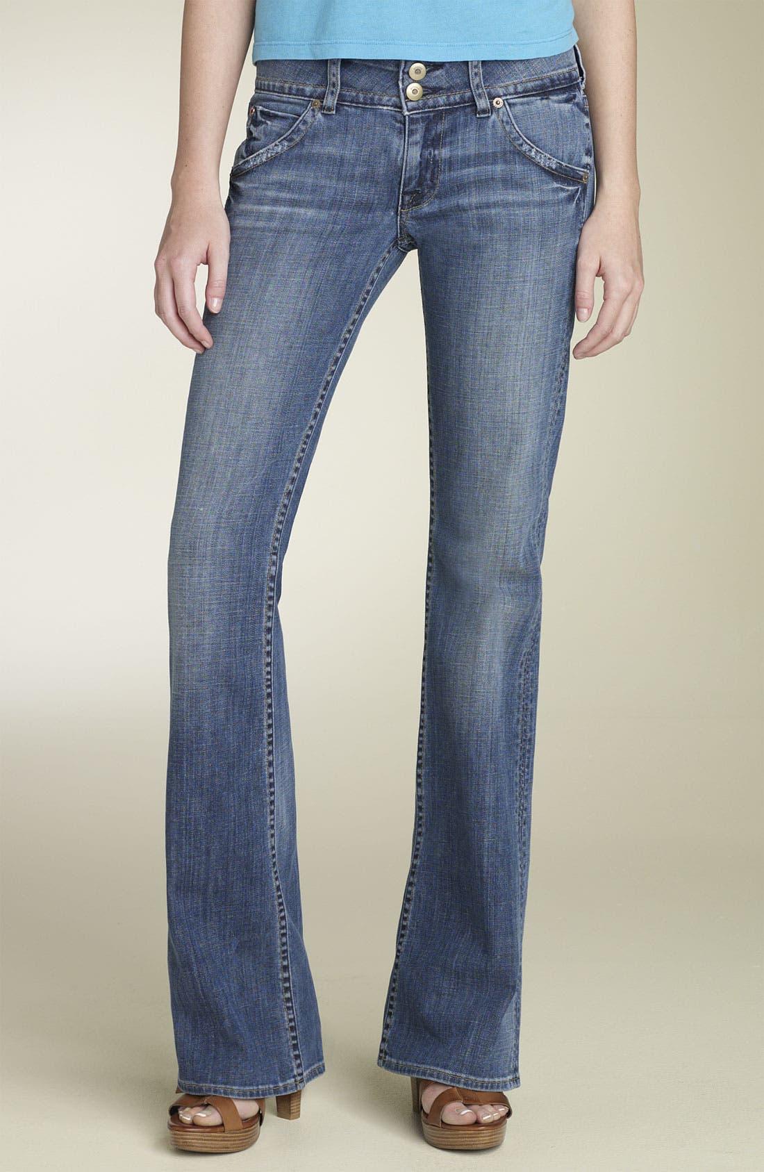 ,                             Signature Flap Pocket Bootcut Jeans,                             Main thumbnail 39, color,                             429