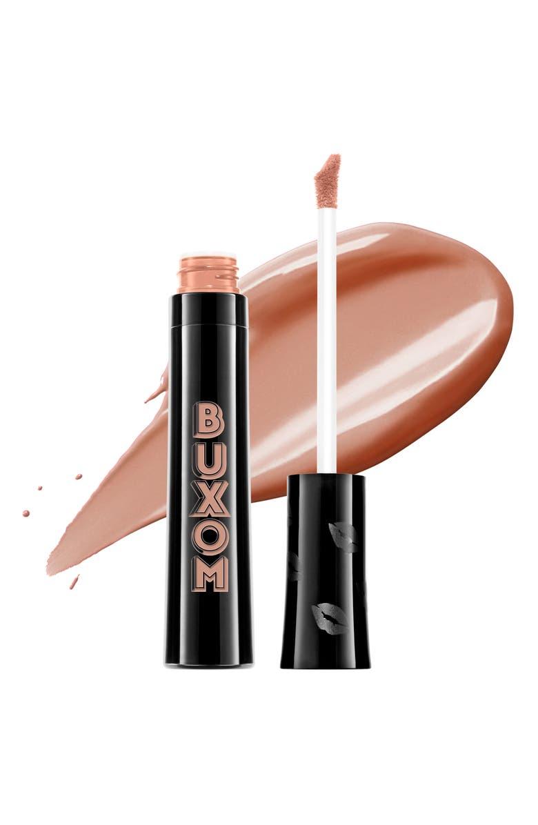 BUXOM Va-Va Plump Shiny Liquid Lipstick, Main, color, TAUPE IT OFF