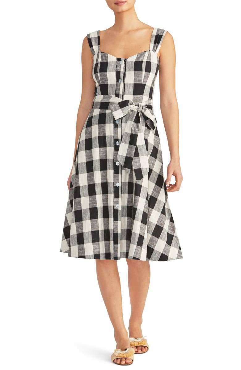 Gingham Cotton Sundress by Rachel Roy Collection