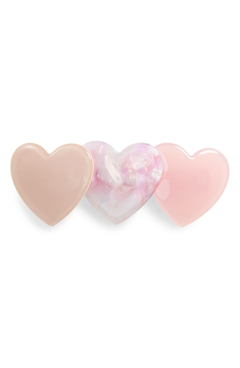 8 OTHER REASONS Candy Heart Hair Clip, Main, color, 650