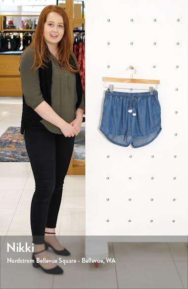 Drawstring Chambray Shorts, sales video thumbnail