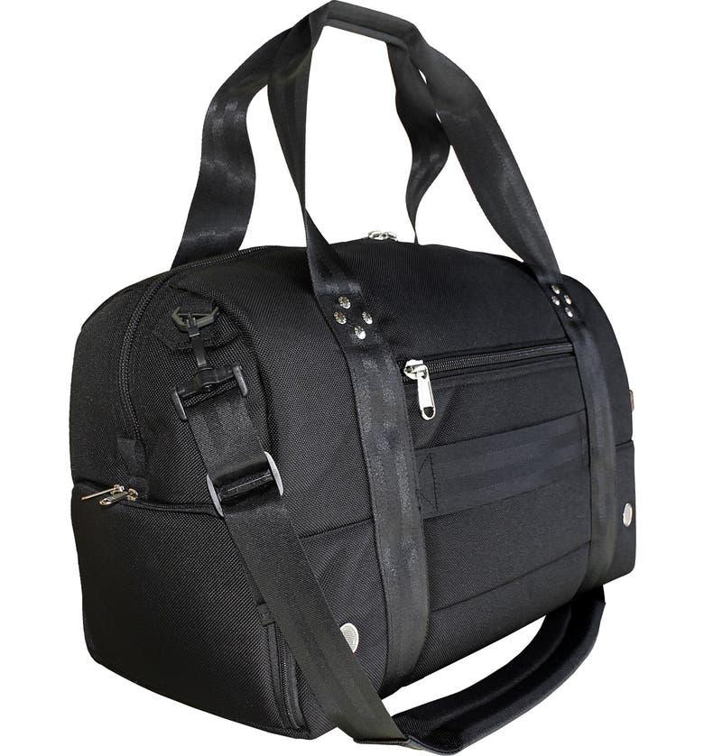 CLUB GLOVE <sup>®</sup> TRS Ballistic - Travel Rx Duffle Bag, Main, color, BLACK/ BLACK
