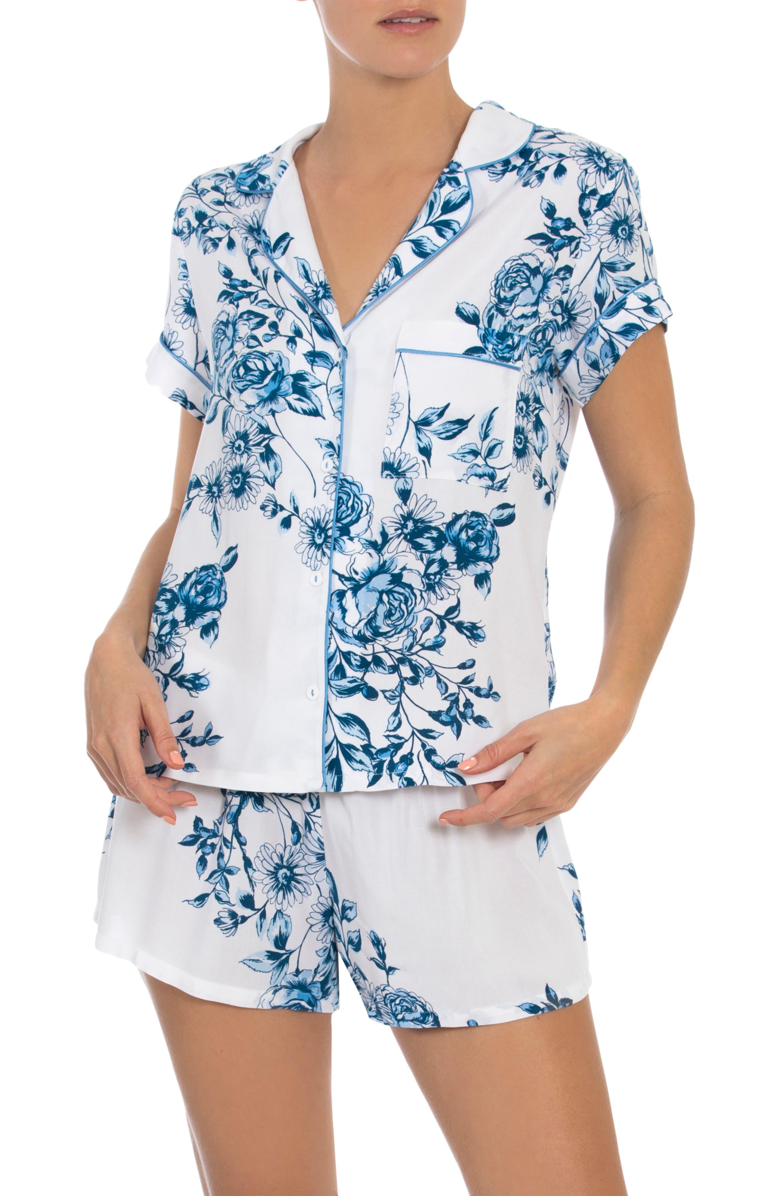 Floral Short Pajamas