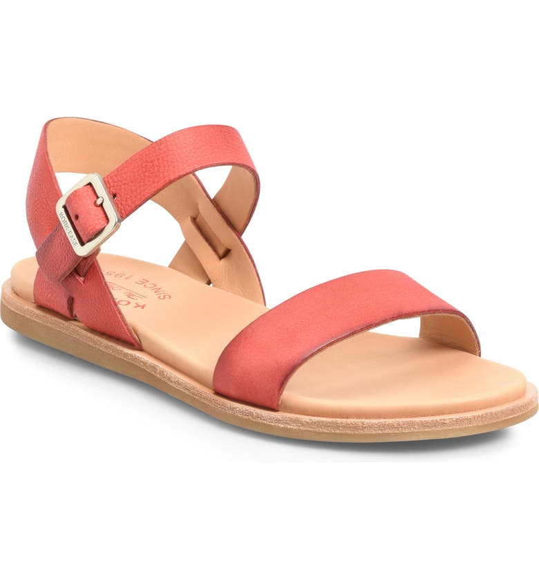 KORK-EASE<SUP>®</SUP> Yucca Sandal, Main, color, RED LEATHER