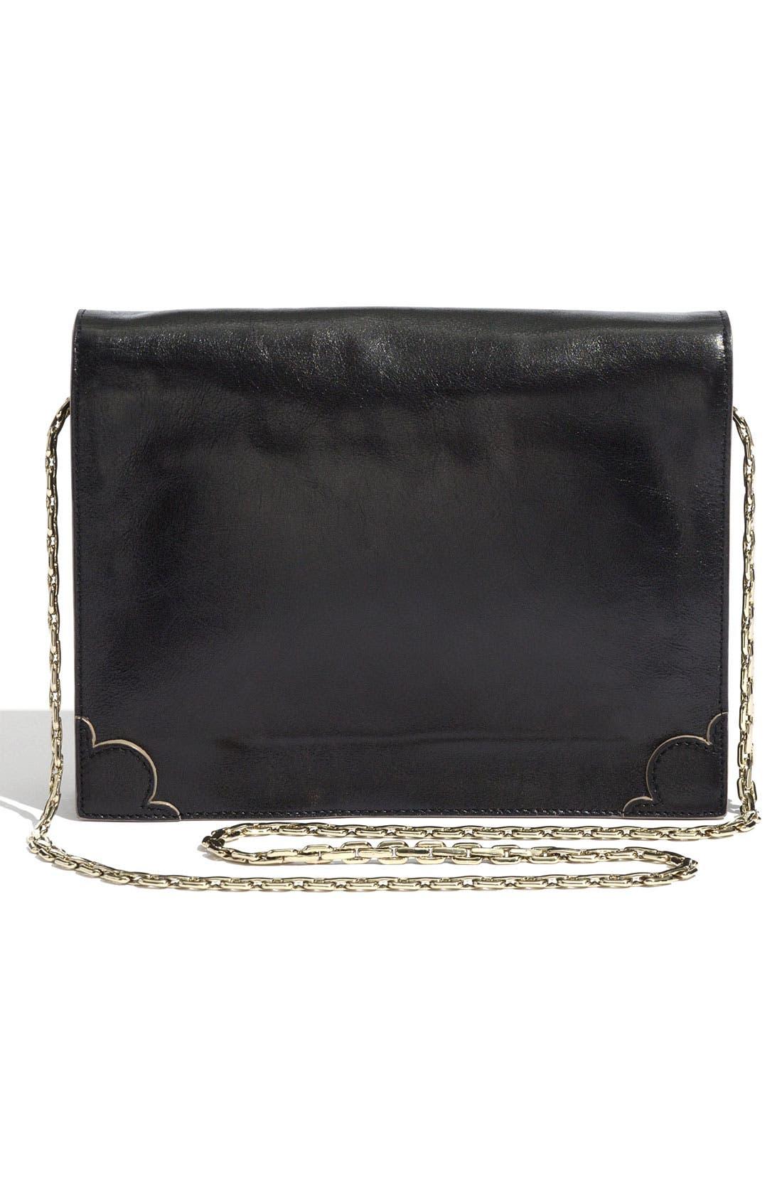 ,                             Jason Wu 'Jourdan' Calfskin Leather Shoulder Bag,                             Alternate thumbnail 3, color,                             001