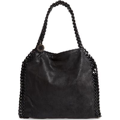 Stella Mccartney Small Falabella Faux Leather Tote - Black