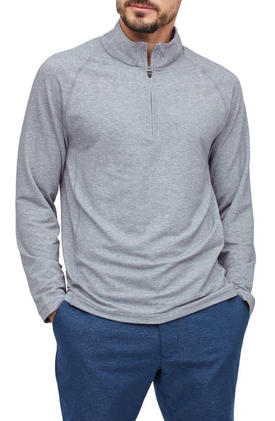 BONOBOS Clothing SLIM FIT PERFORMANCE GOLF HALF ZIP PULLOVER