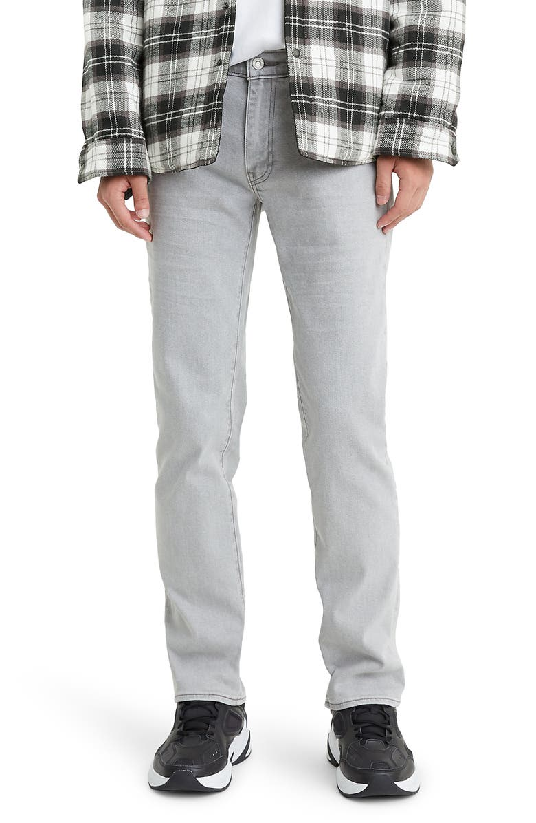 LEVI'S<SUP>®</SUP> 511<sup>™</sup> Slim Fit Jeans, Main, color, STEEL GREY FLAT