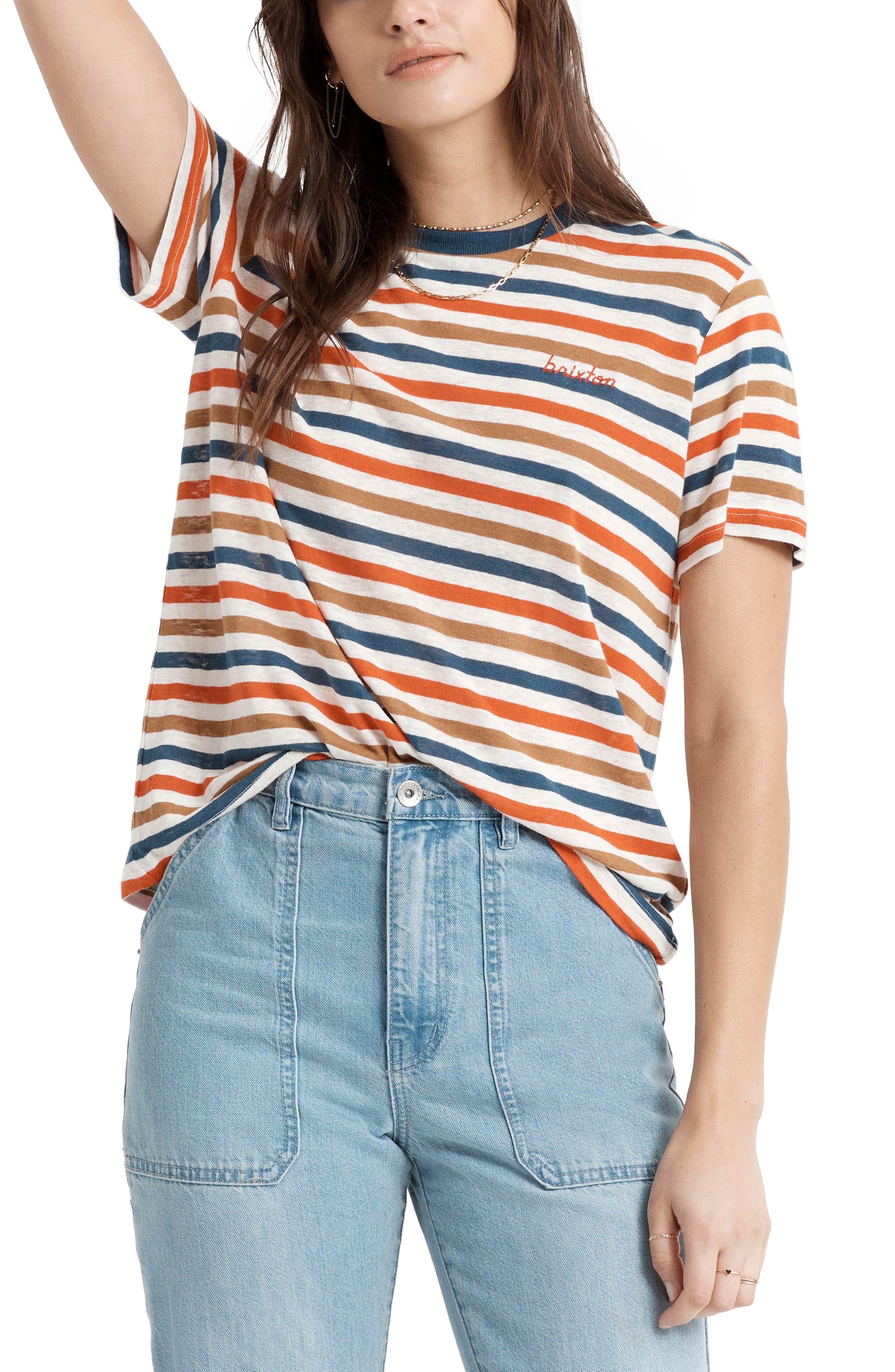 Hilt Stripe Cotton T-Shirt
