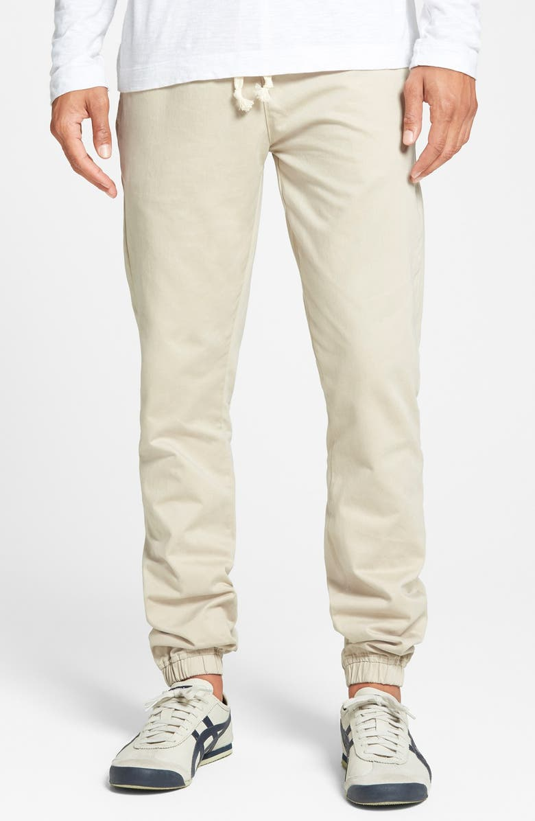 TOPMAN Jogger Chinos, Main, color, 250