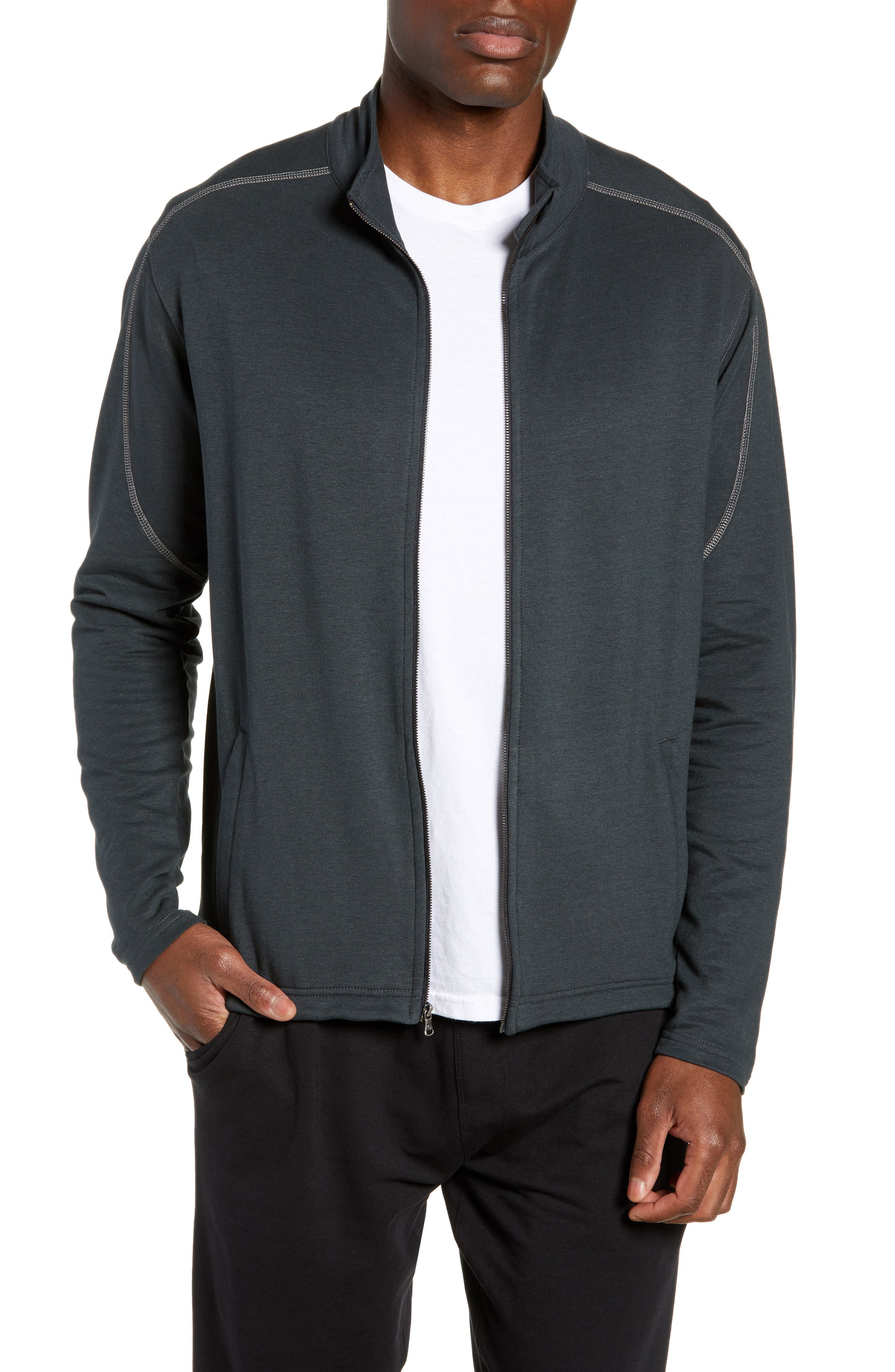 Tasc Performance Tahoe Ii Fleece Jacket, Grey