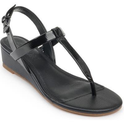 Splendid Avalon Wedge Sandal- Black
