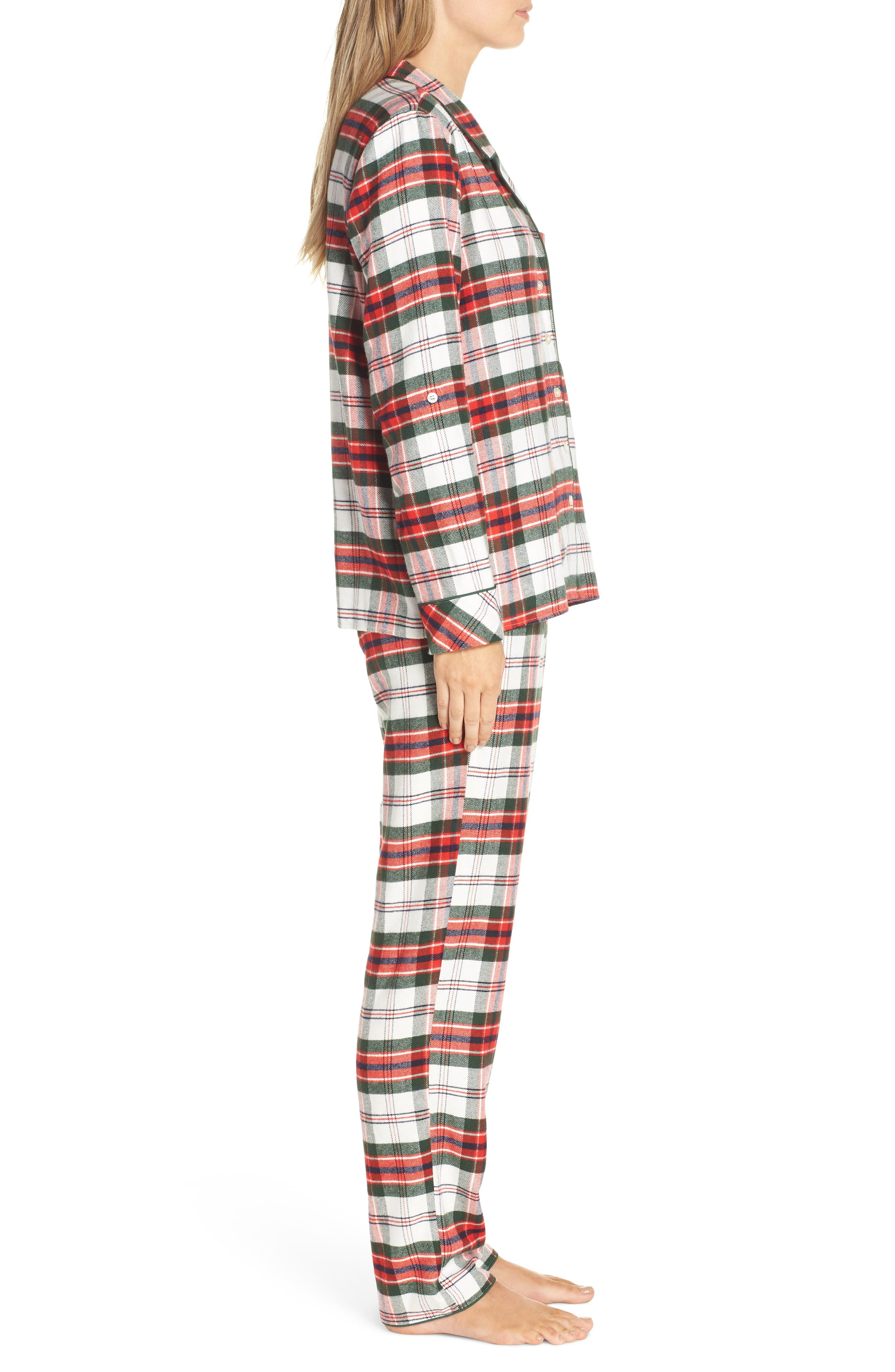 ,                             Lingerie Starlight Flannel Pajamas,                             Alternate thumbnail 27, color,                             900