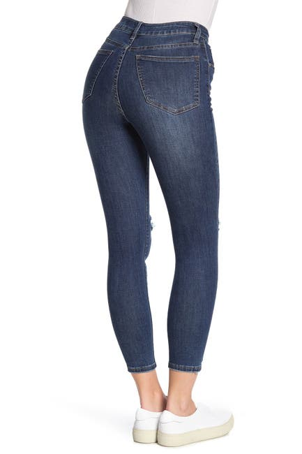 Image of Cotton On High Rise Grazer Skinny Jeans