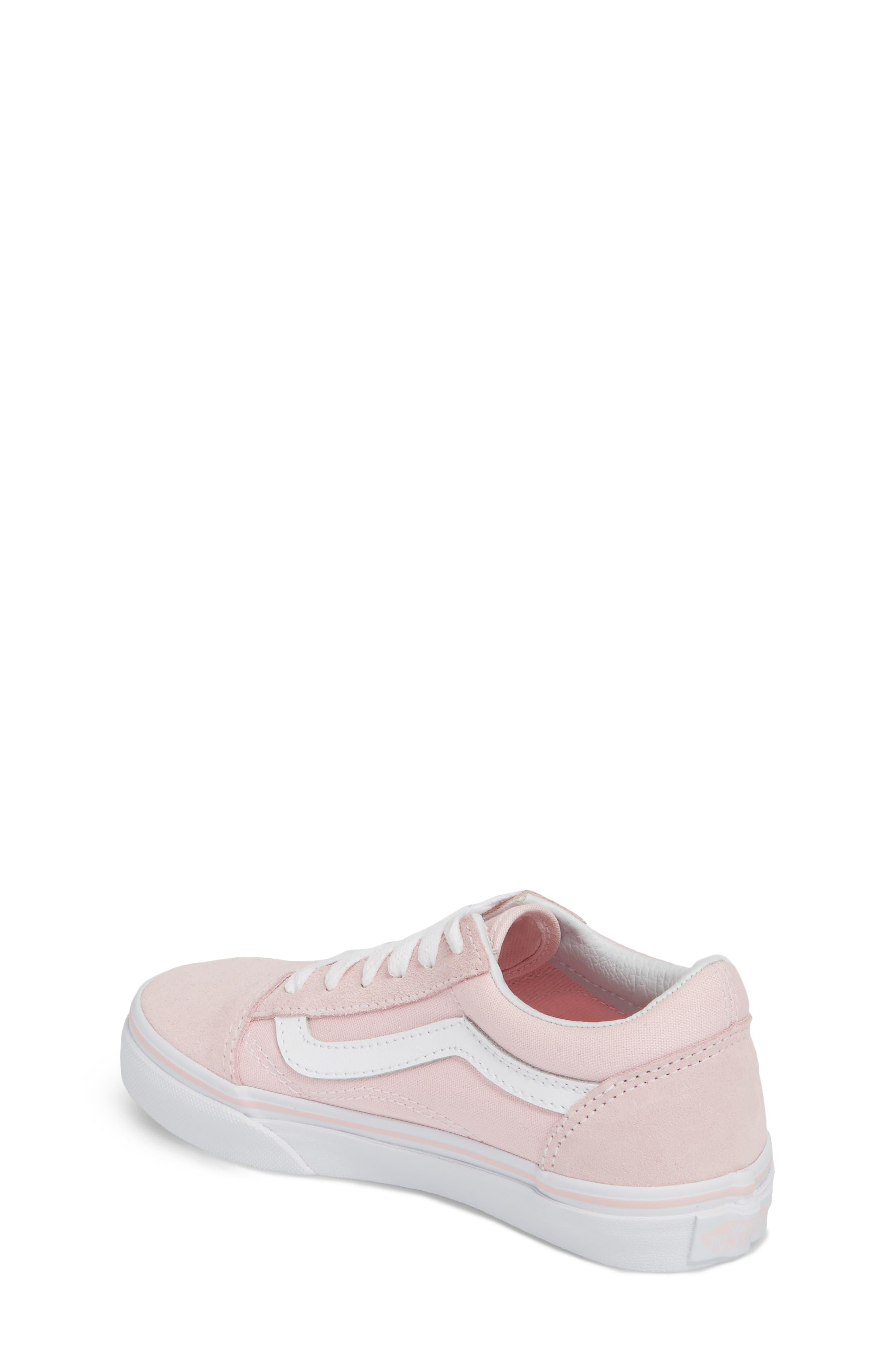 ,                             Old Skool Sneaker,                             Alternate thumbnail 2, color,                             CHALK PINK/ TRUE WHITE