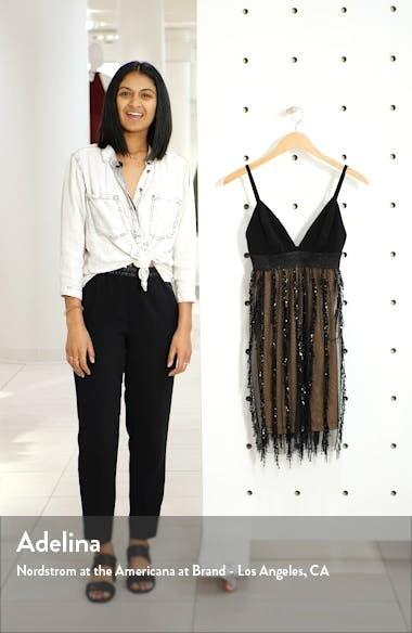 Rihanna Sequin Fringe Minidress, sales video thumbnail