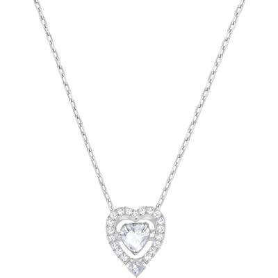 Swarovski Sparkling Dance Heart Pendant Necklace