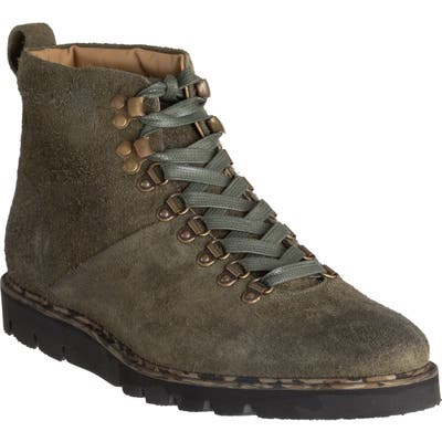 Ross & Snow Stefano Supreen Weatherproof Plain Toe Boot, Green