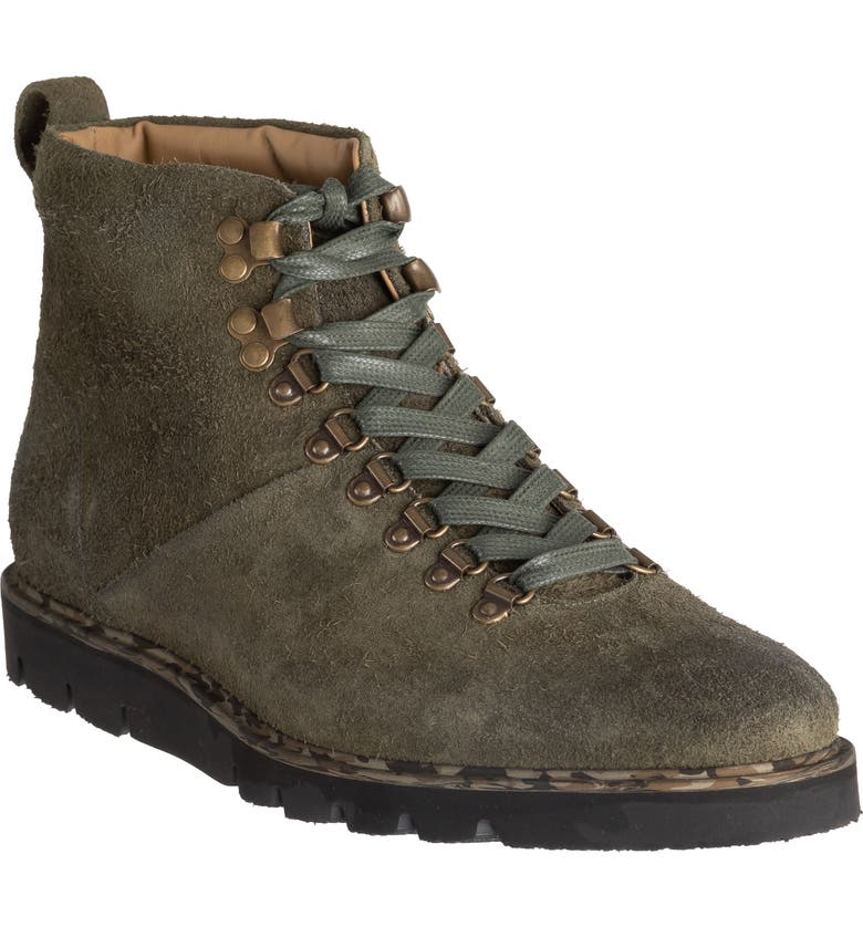 ROSS & SNOW Stefano SuPreen Weatherproof Plain Toe Boot, Main, color, OLIVE