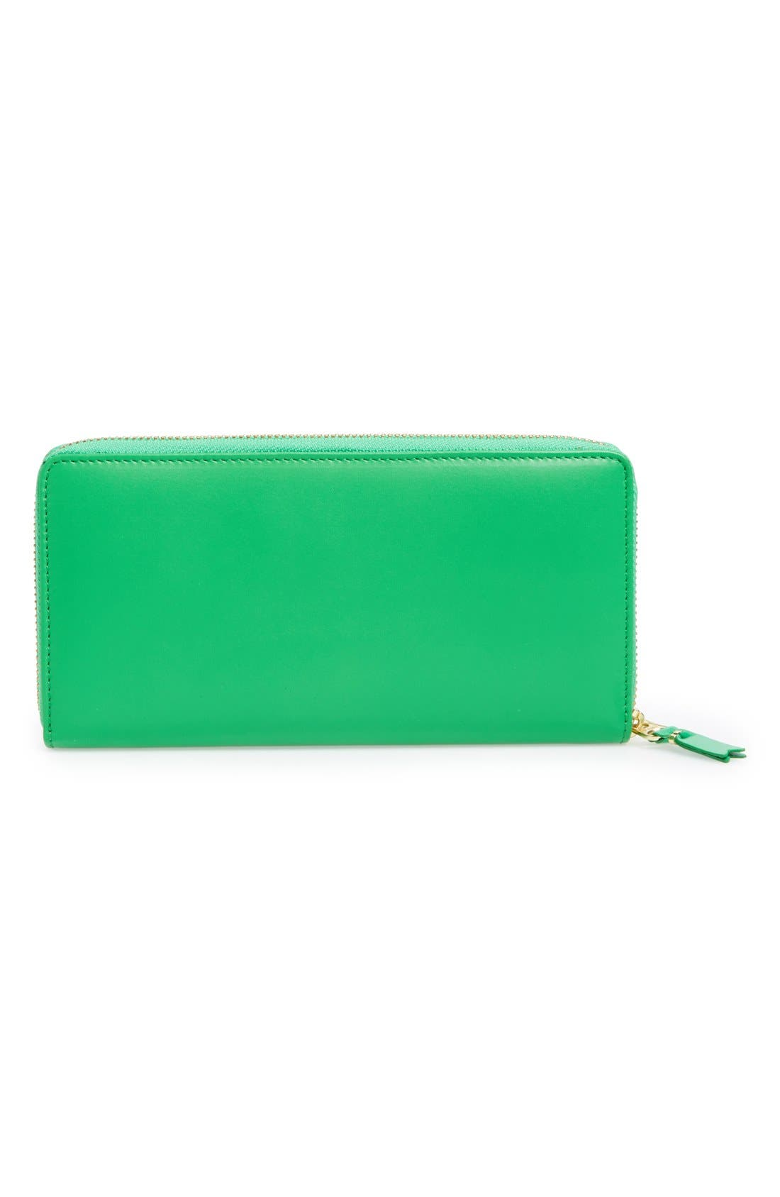 ,                             Leather Continental Long Wallet,                             Alternate thumbnail 3, color,                             300