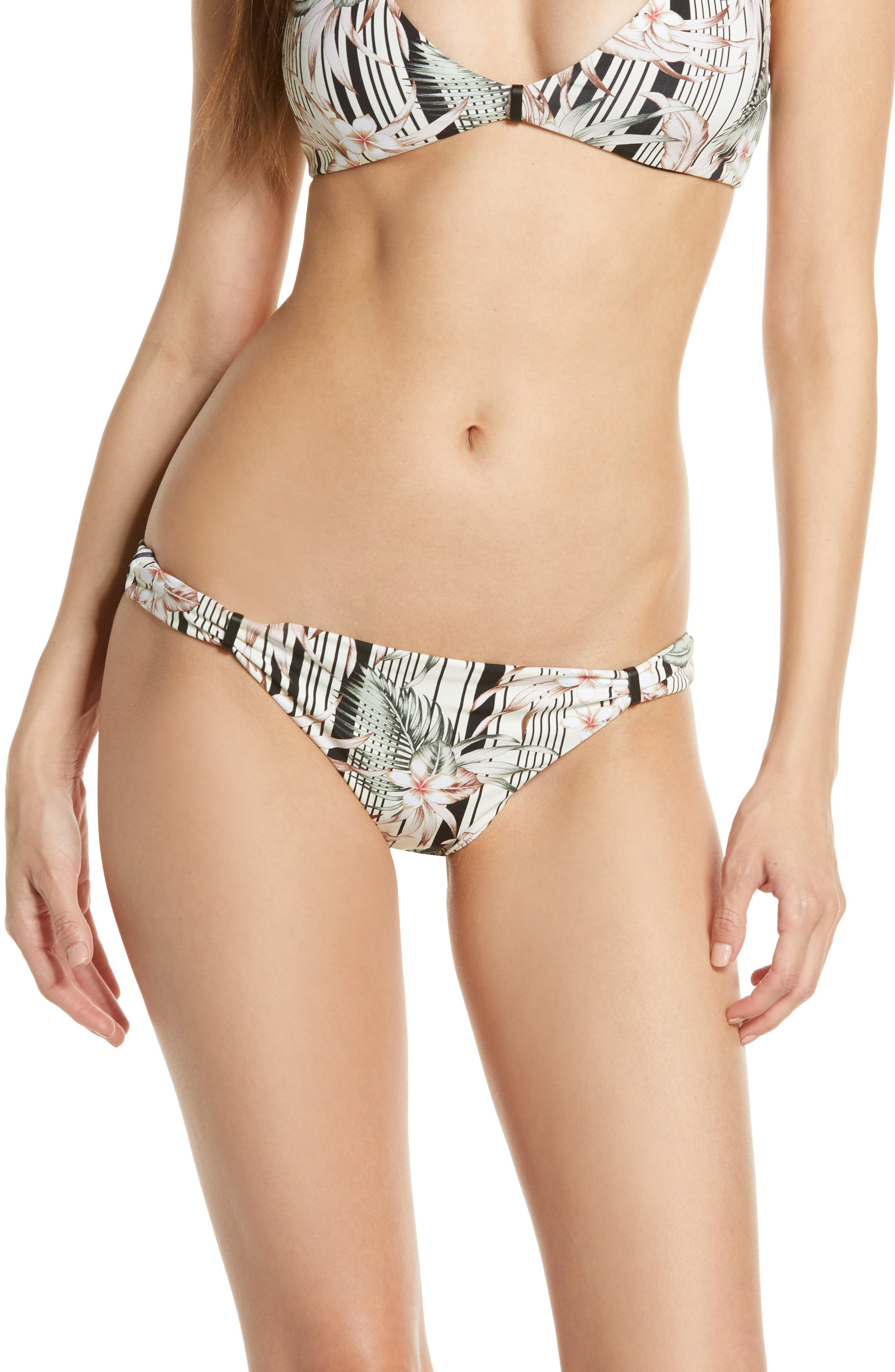 Dolce Vita Playa Trail Bikini Bottoms, Black