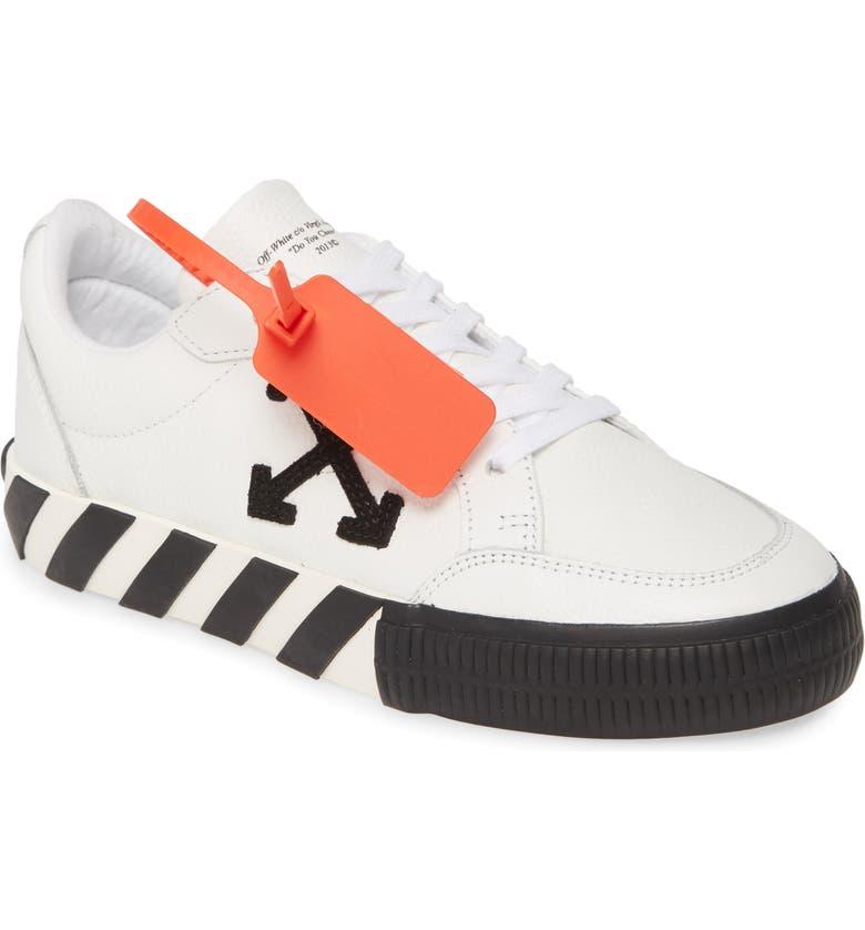 OFF-WHITE Low Arrow Sneaker, Main, color, WHITE BLACK