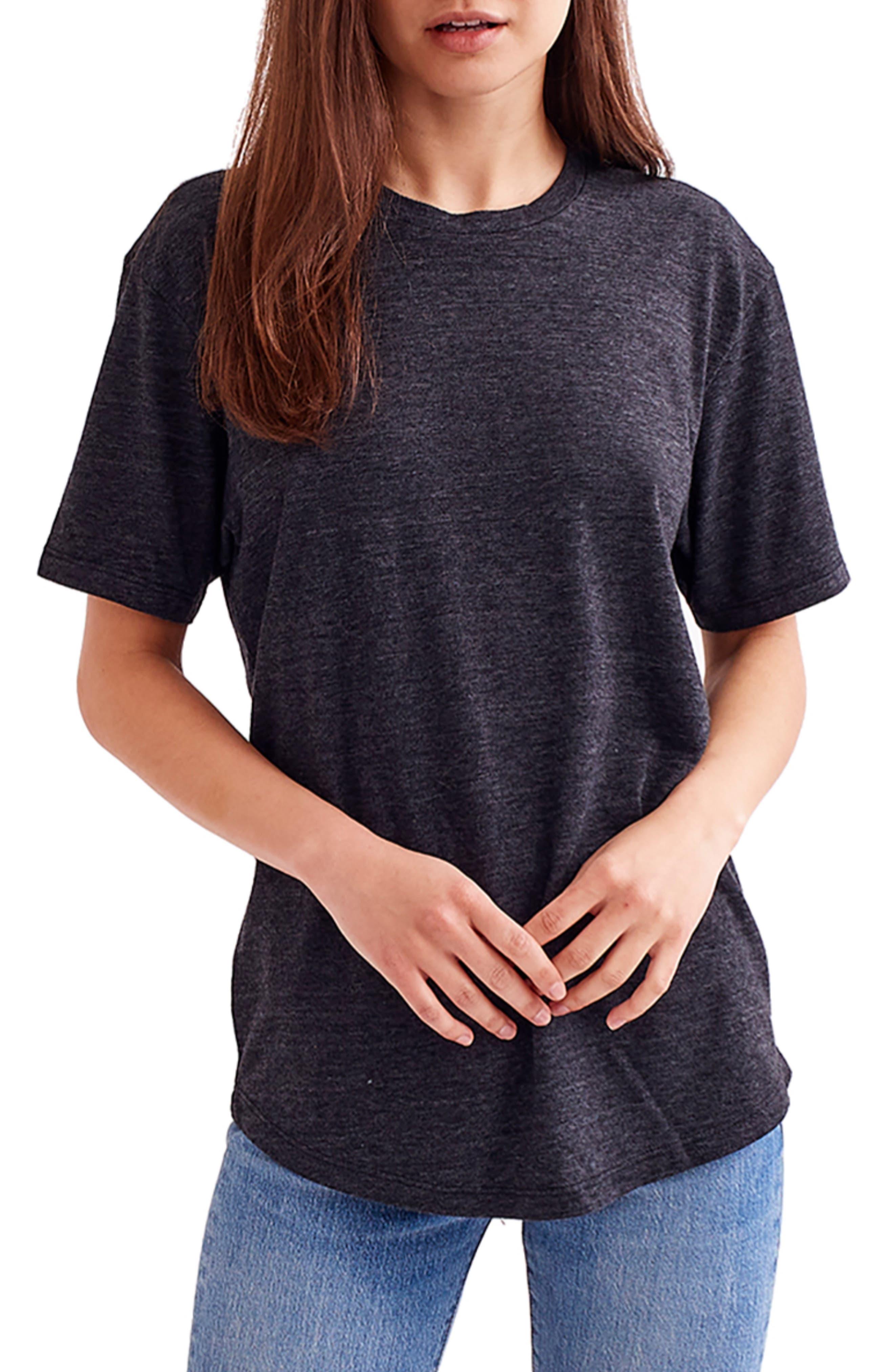 Triblend Crewneck Scallop T-Shirt