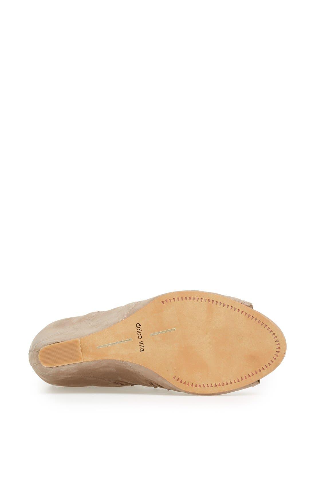 ,                             'Shandy' Cutout Sandal,                             Alternate thumbnail 9, color,                             260