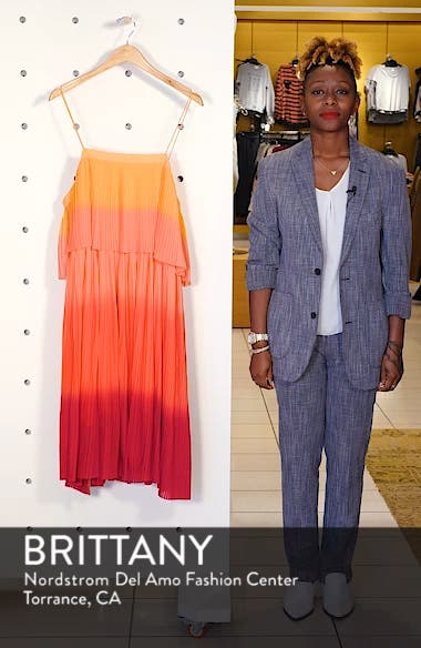 Pleated Midi Dress, sales video thumbnail